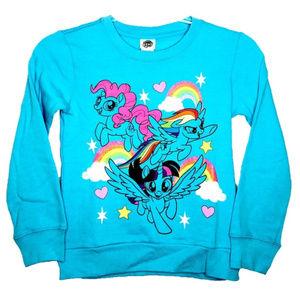 My Little Pony Turquoise Sweatshirt